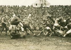 Thanksgiving 1934, Lions mot Bears