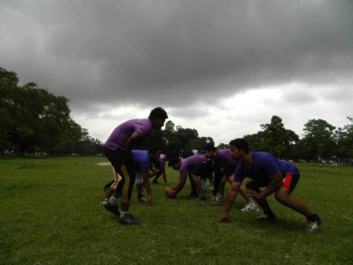 EFLI - trening i en park