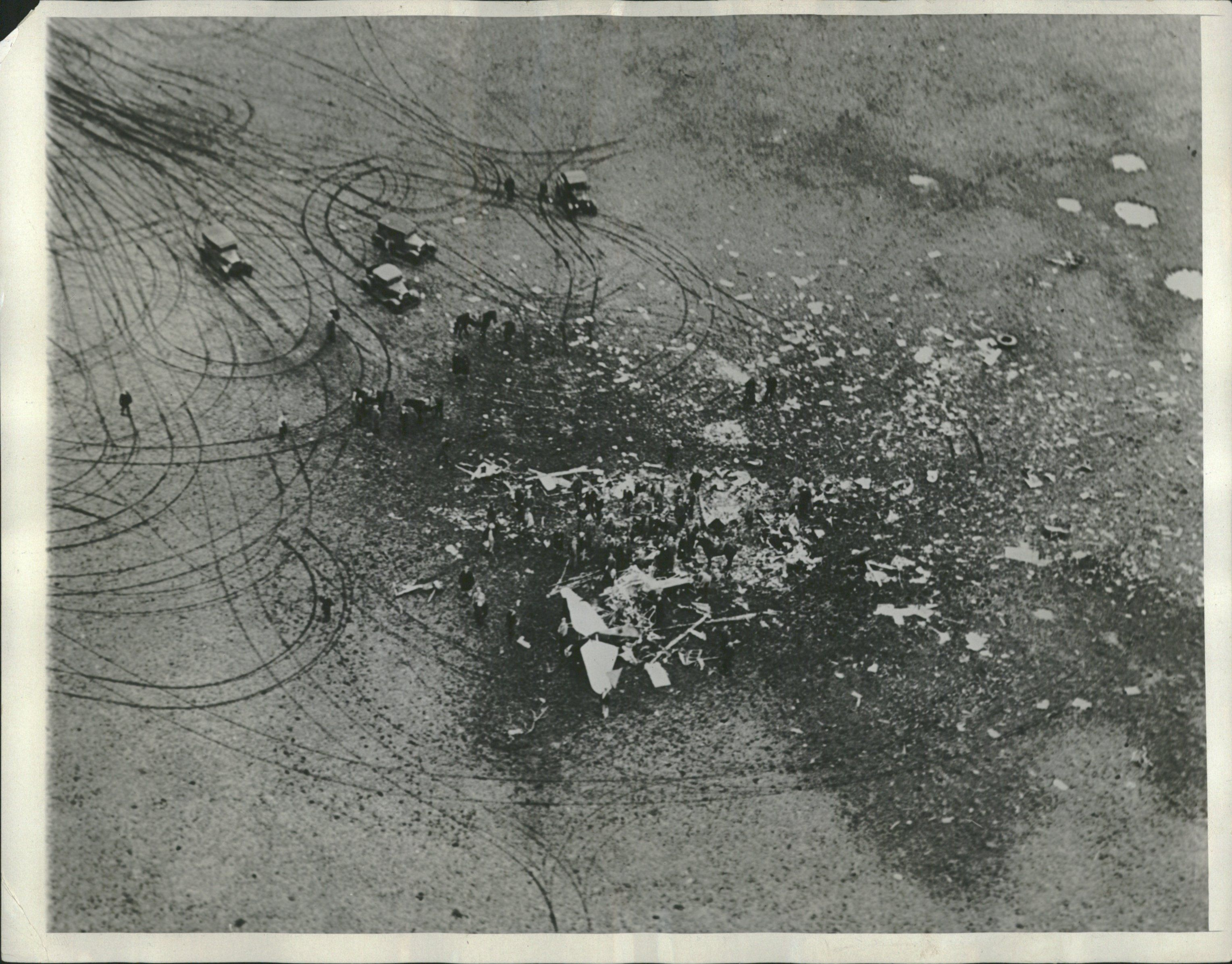 Rockne crash site