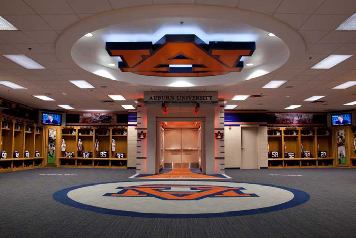 Auburn Locker Room 2