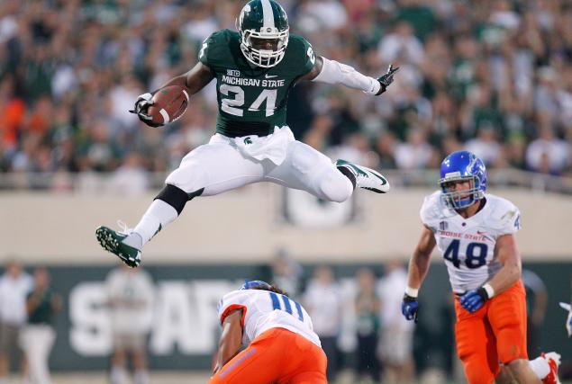 LeVeon Bell Spartans
