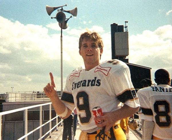 Sean Payton Leicester Panthers 1988