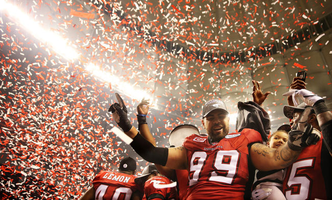 Stampeders win 102nd Grey Cup
