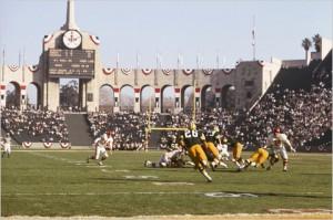 Green Bay Packers overvant Kansas City Chiefs i Super Bowl I