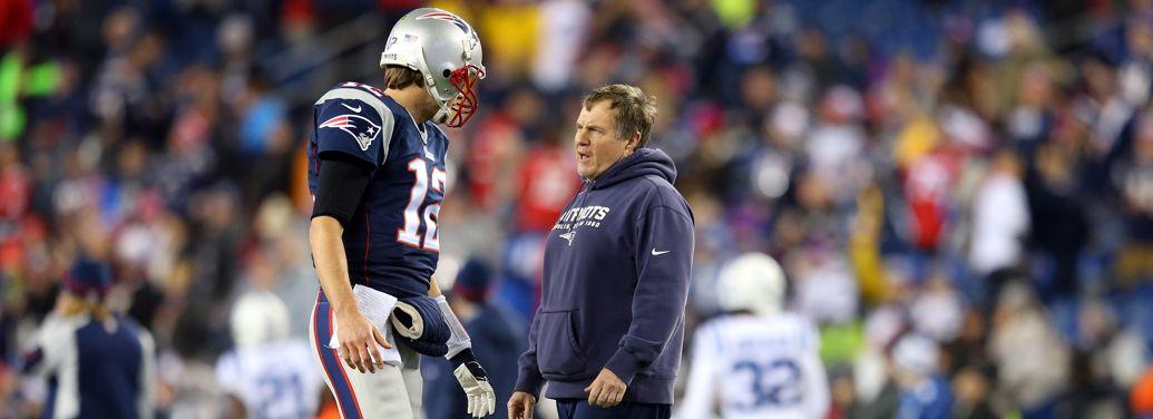 Brady og Belichick