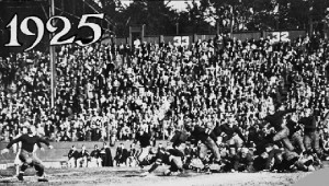 East West Shrine Game 1925