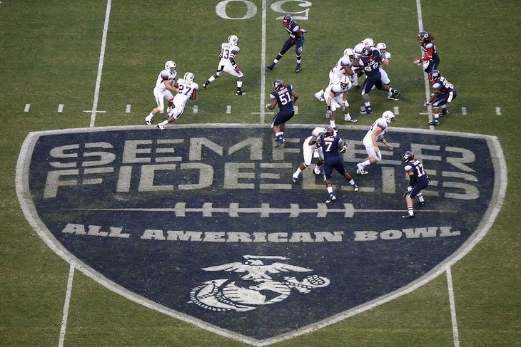 Semper Fidelis All-American Bowl gameshot