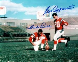 Babe Parilli og Gino Cappelletti