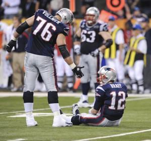 Sebastian Vollmer og Tom Brady