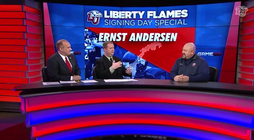 Ernst Andersen - signing day