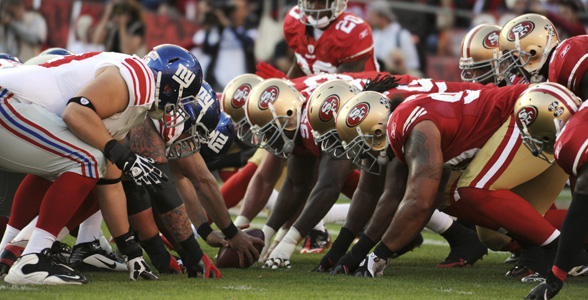 nfc championship game 2012 LOS