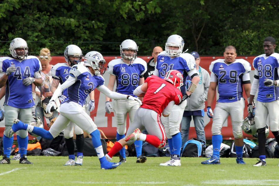 Amsterdam Crusaders vs Amsterdam Panthers