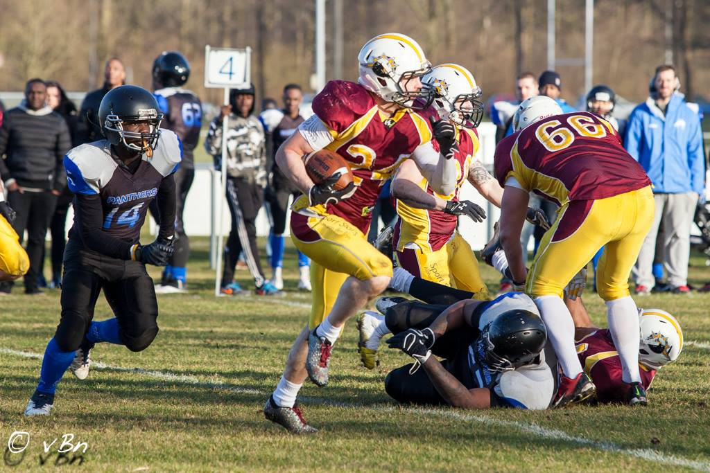 Amsterdam Panthers vs Alphen Eagles - foto av vBn