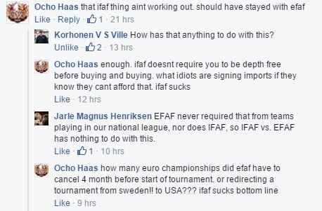 Glads - reaksjon Ocho Haas