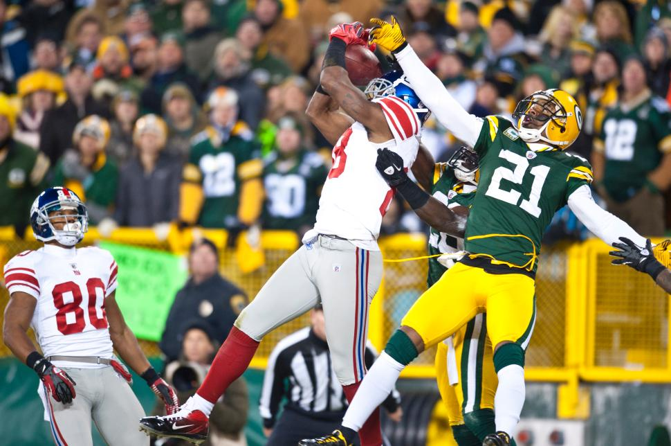 Hakeem Nicks vs Packers