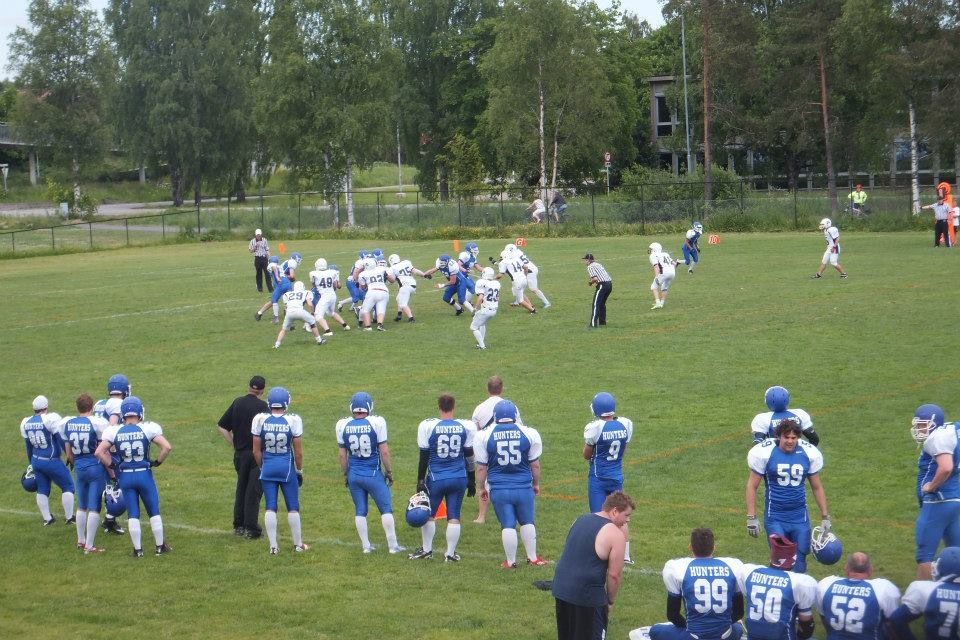 Kolbotn Hunters vs Drammen Warriors 2014 - fotograf Drammen
