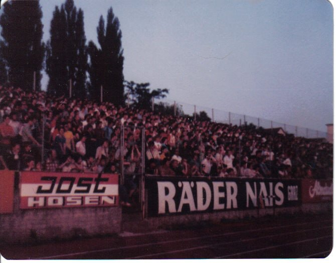 Newton Nite Hawks - stadium in Graz 1977