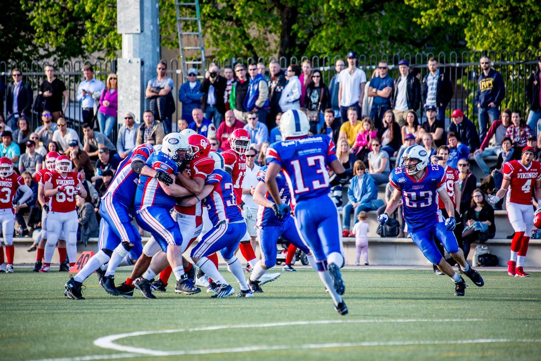 Oslo Vikings vs Vålerenga Trolls 20140516 - Foto Max Emanuelson