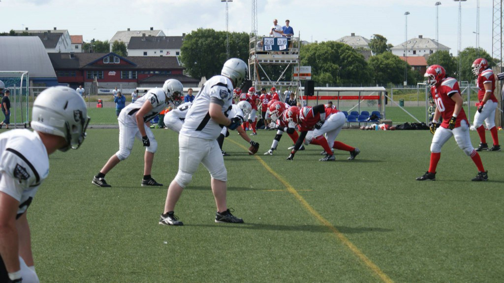 Raiders vs Kings i Haugesund 2014 - foto Hurricanes