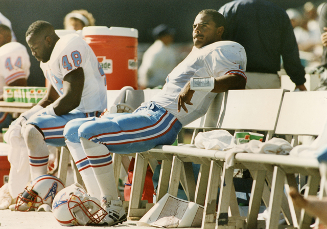 Houston Oilers v San Diego Charger