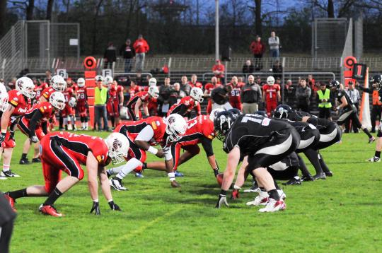 Berlin Rebels vs New Yorker Lions LOS 2