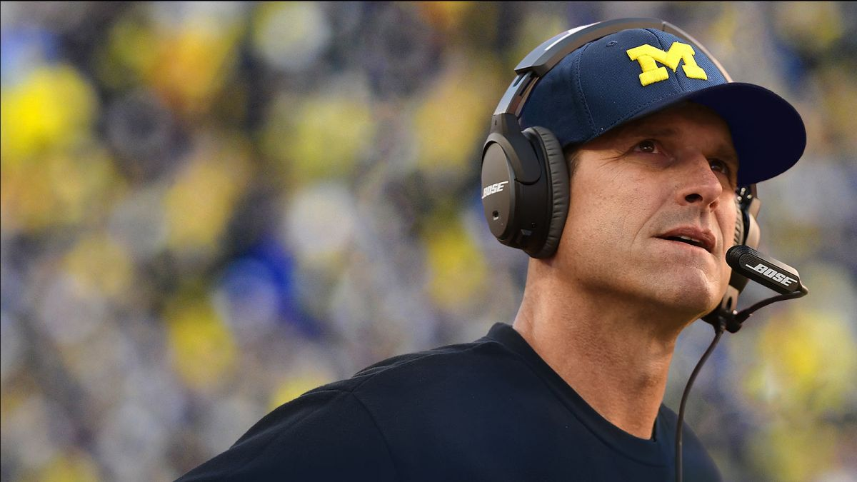 Jim Harbaugh Michigan