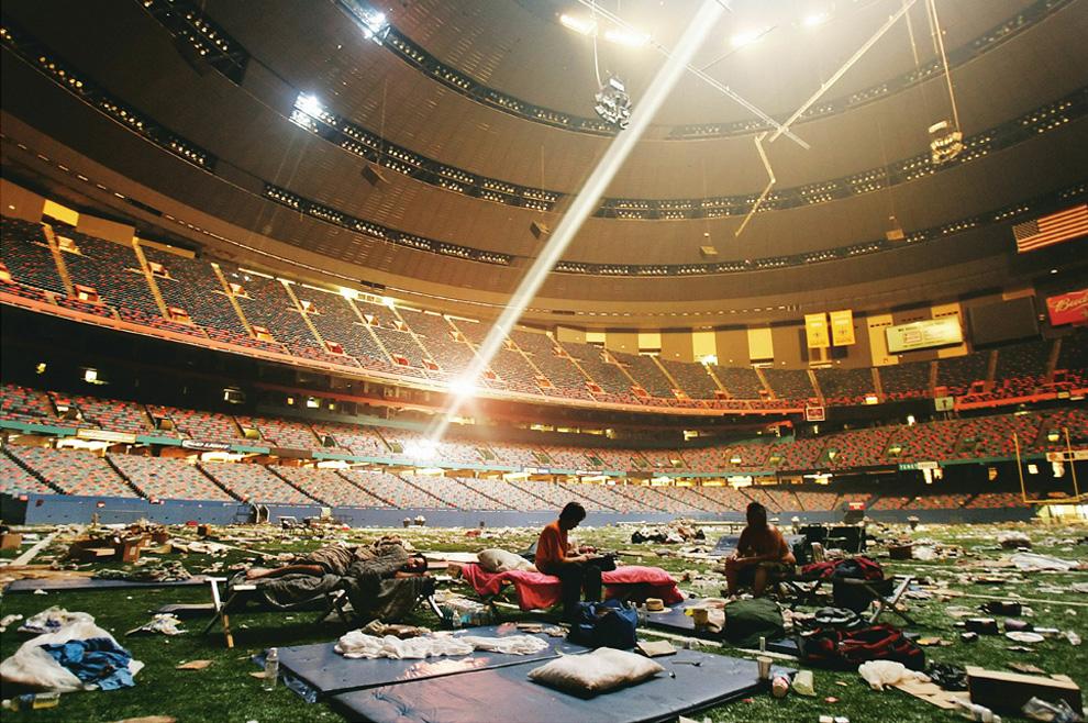 Superdome etter Katrina