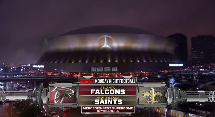 Atlanta Falcons at NO Saints 2011