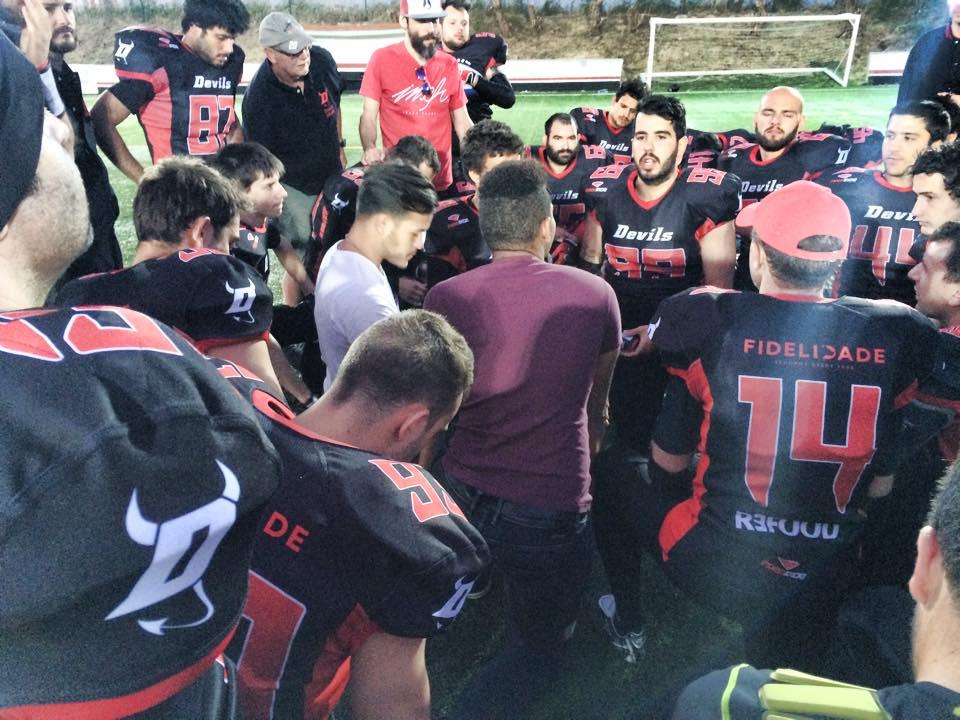 Lisboa Devils etter semi-finale tap 2015