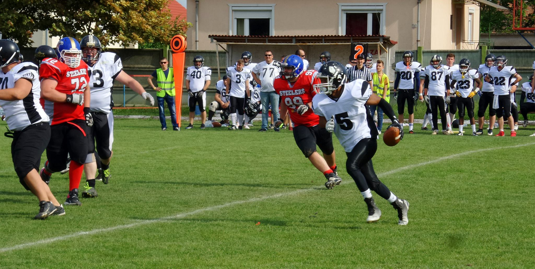 Miskolc Steelers vs. Nyigerhaza Steelers - foto Steelers FB-side