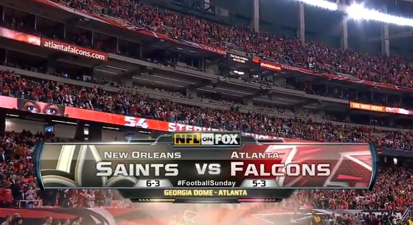 NO Saints at Atlanta Falcons 2011