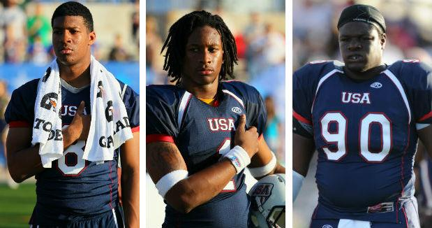 Team USA Football 1st rounders 2015 - foto USA Football