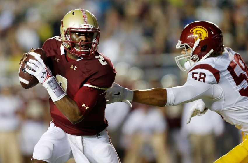 USC at Boston College 2014 - gamepic