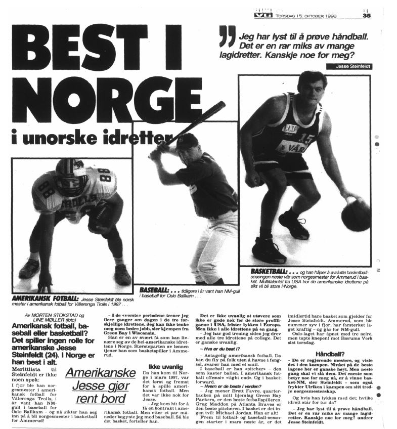 Best in Norway - Jesse Steinfeldt 1998