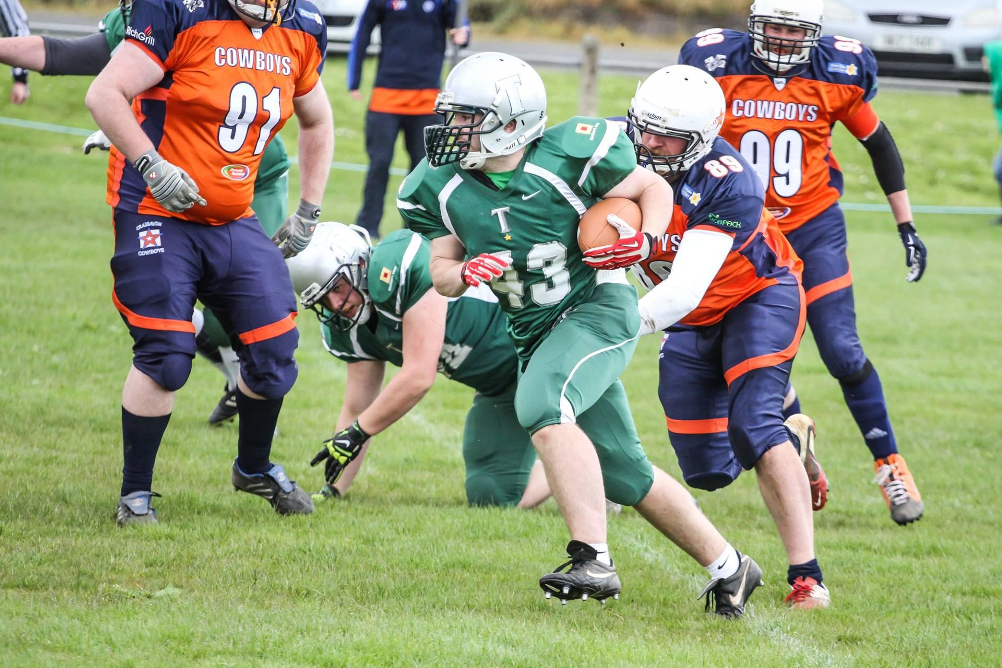 Craigavon Cowboys vs Belfast Trojans 2015 - foto Pixlmedia