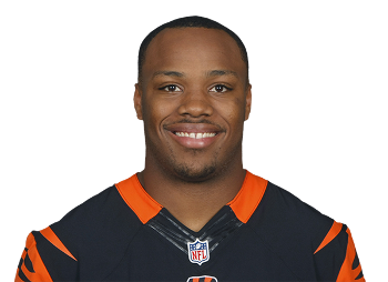 Jeremy Hill Cincy Bengals portrait