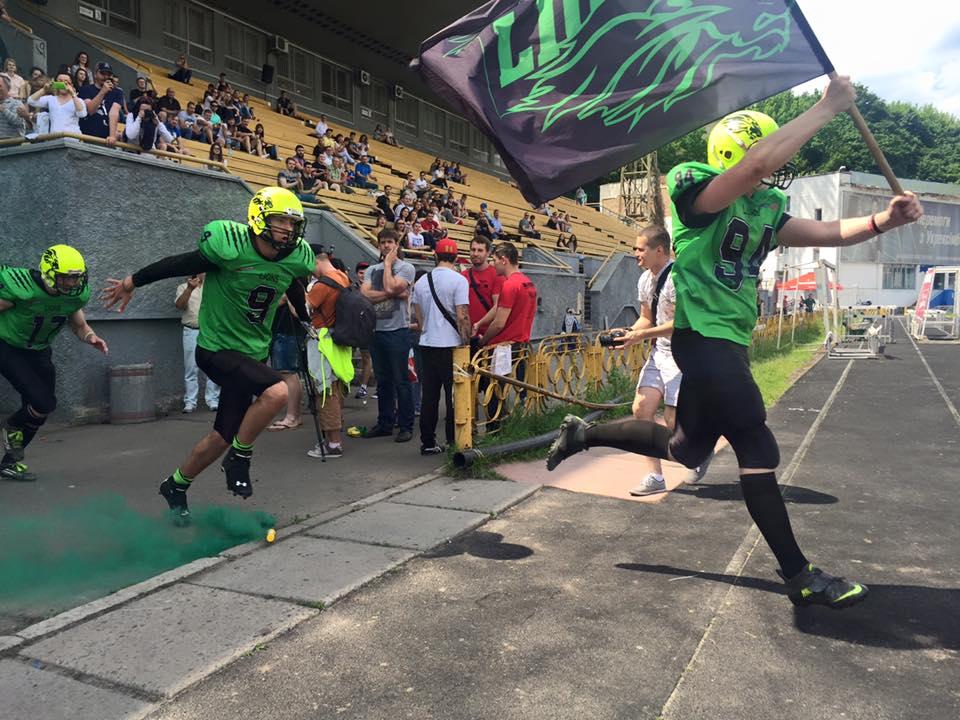 Lviv Lions entrer banen mot Kiev Bandits 2015