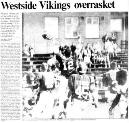 NM-finale 1990 - Westside overrasket - Aftenposten