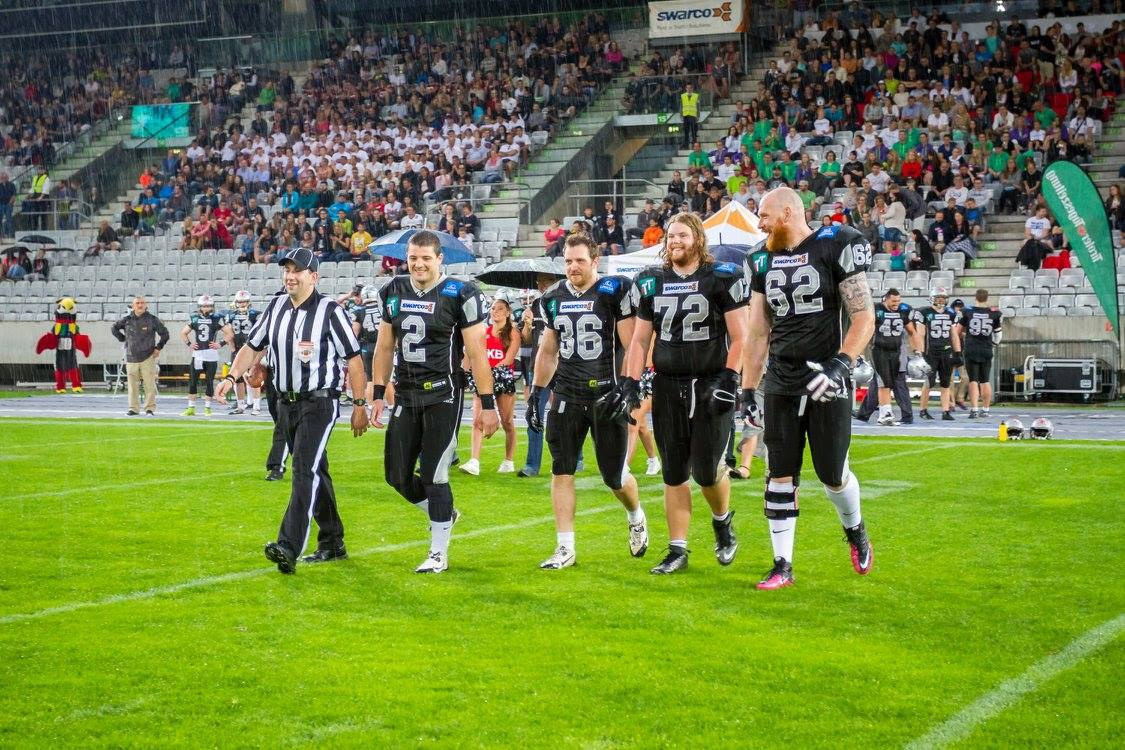 Swarco Raiders vs London Warriors 2015 - foto Markus Stieg