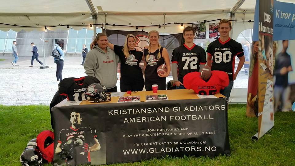 Kristiansand Glads rekruttering høsten 2015