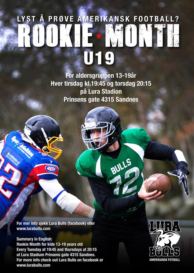 Lura Bulls - rookie month august 2015
