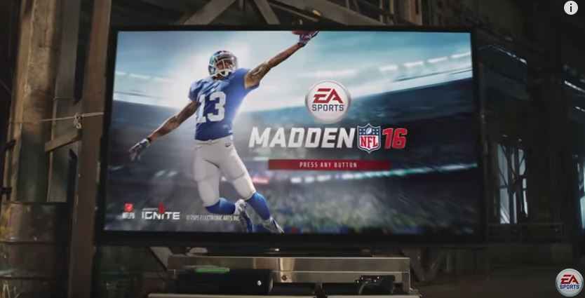 Madden 16 video teaser