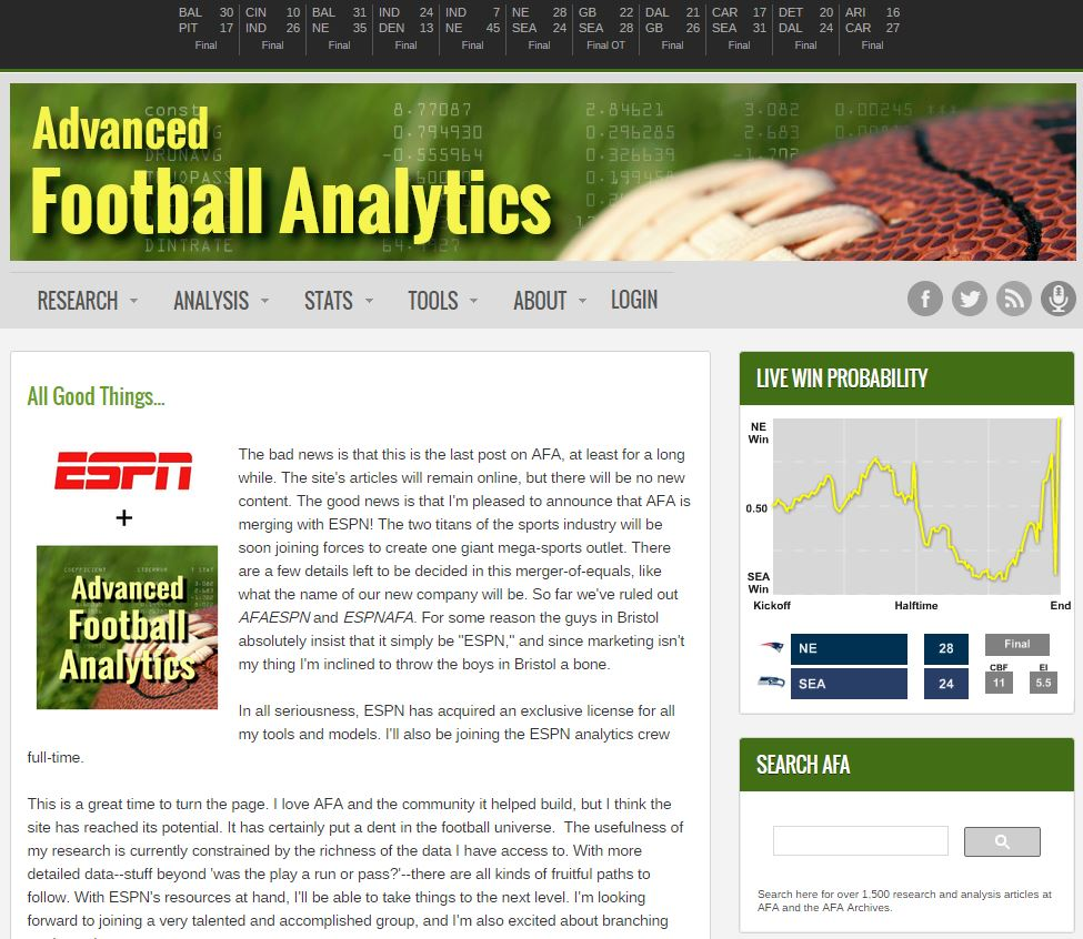 AdvancedFootballAnalytics - 20150907