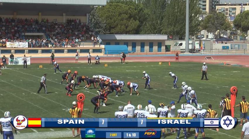 Landskamp Spania vs Israel 02