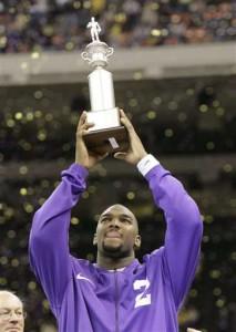 En gang var JaMarcus Russell MVP i Sugar Bowl, men det er lenge siden nå.