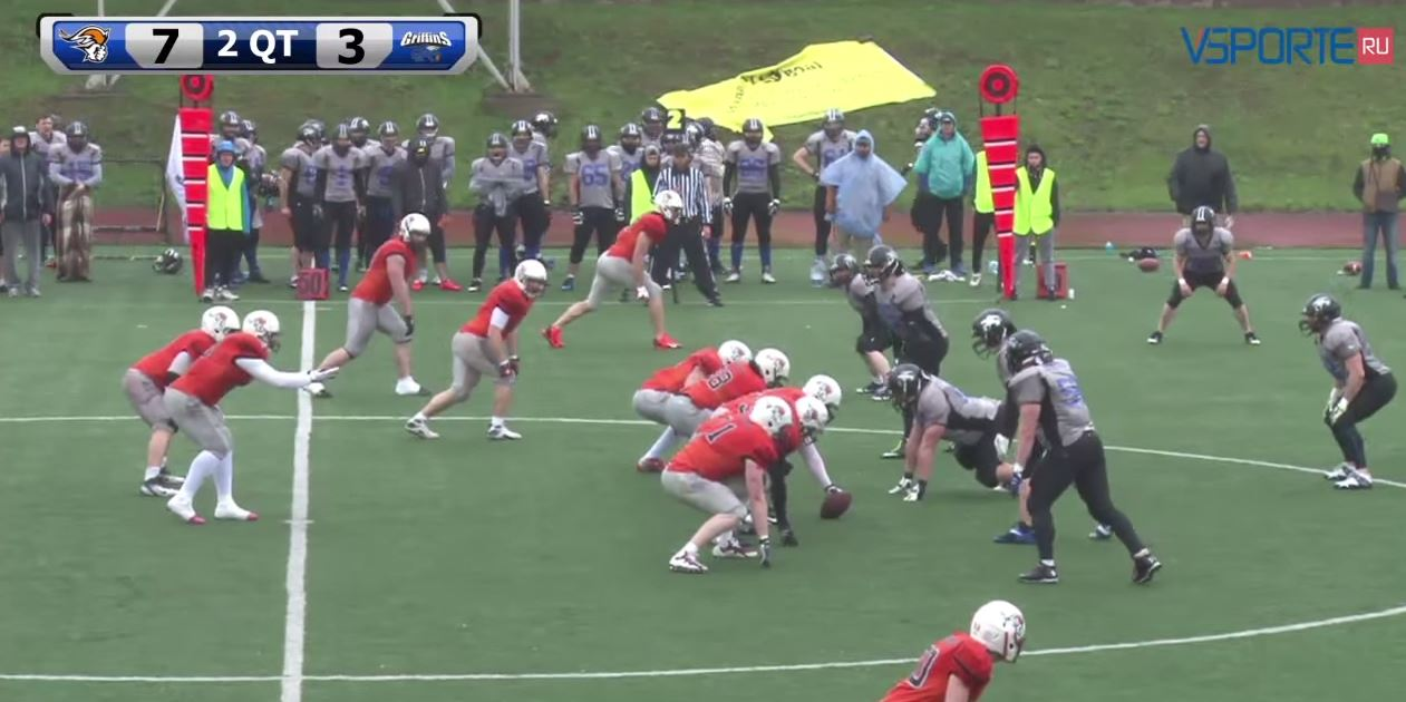 Moscow Patriots vs StPetersburg Griffins kampfilm screenshot
