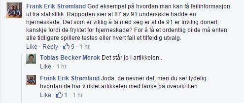 Sjokkrapport - NRK om NFL 20150918 kommentar Strømland