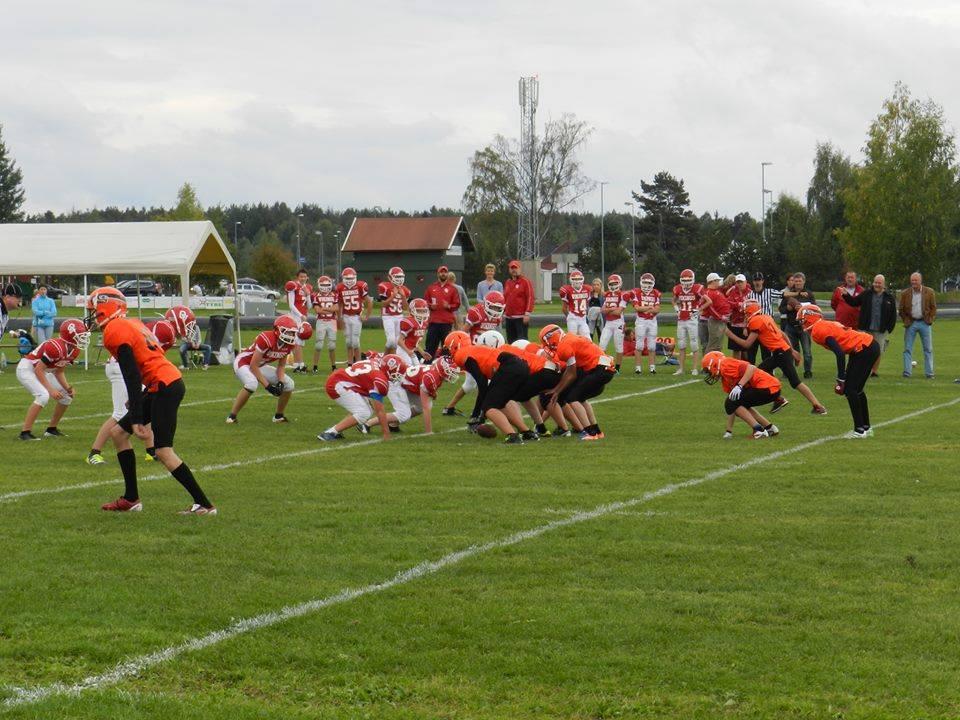 U15 Oslo Vikings vs Åsane Seahawks 2013 - foto Åsane Seahawks