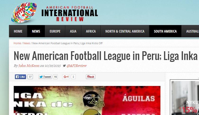 AFI - liga inka 2015