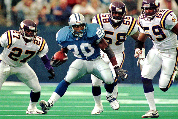 Barry Sanders vs Vikes
